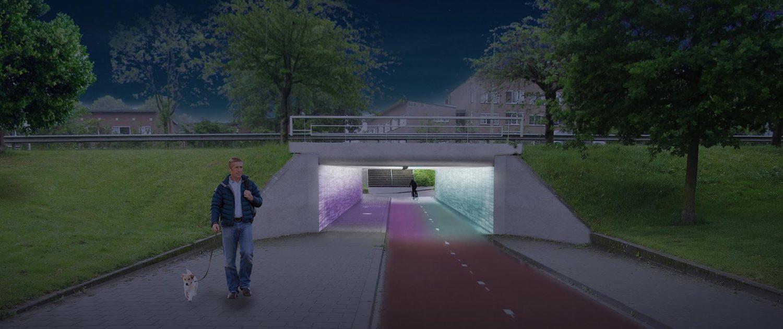 licht in de tunnel tunnelverlichting