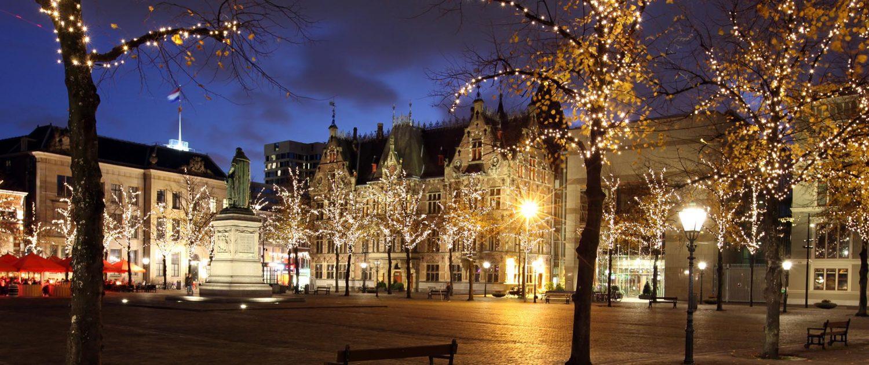 lichtarchitectuur momumenten, Den Haag, ipv Delft