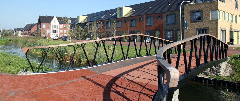 brugfamilie Boszoom Pijnacker, ontwerp door ipv Delft, engineering van brug