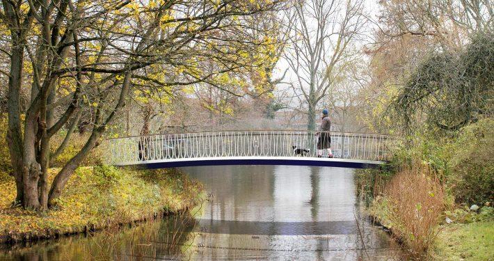 standaardbrug ontwerp, voetgangersbrug ontwerp door ipv Delft