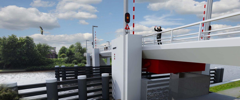 beweegbare brug in bouwteamverband gerealiseerd