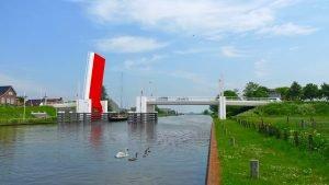 beweegbare brug Dronryp