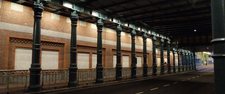 verlichting spoorpassages Haarlem ipvDelft