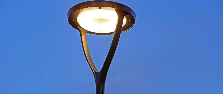 Omego lichtarmatuur ipvDelft, straatverlichting, lichtarchitectuur door ipv Delft