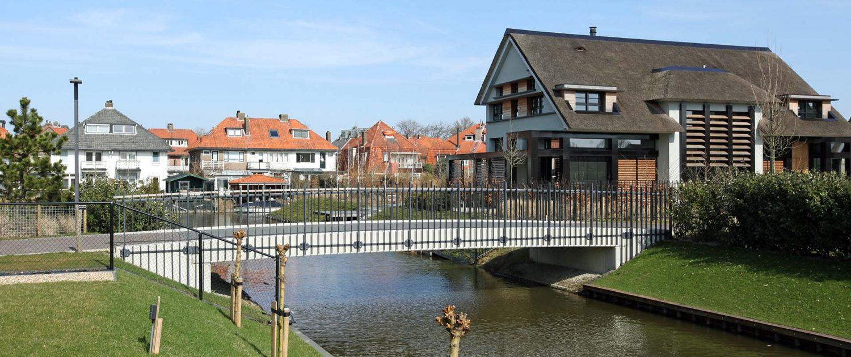 verkeersbruggen lichtmasten Haringbuys villawijk Aerdenhout ipv Delft