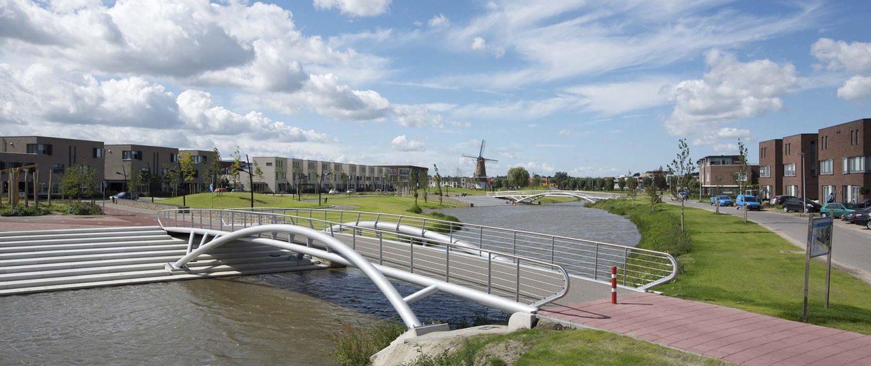 spankabelhekwerk fietsbruggen Schoenmakerspark-EttenLeur-ipvDelft