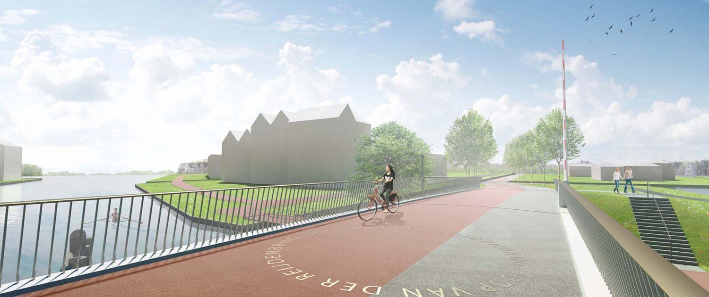 draaipunt brugdek beweegbarebrug Katwijk ipv Delft