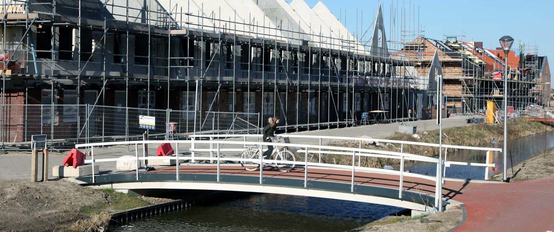 budget maatwerk betonnen fietsbrug Ackerswoude ipv Delft