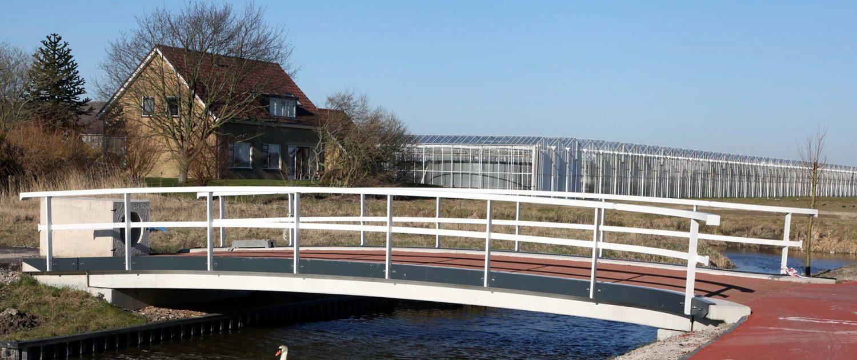 fietsbrug beton Ackerswoude Pijnacker ontwerp ipv Delft
