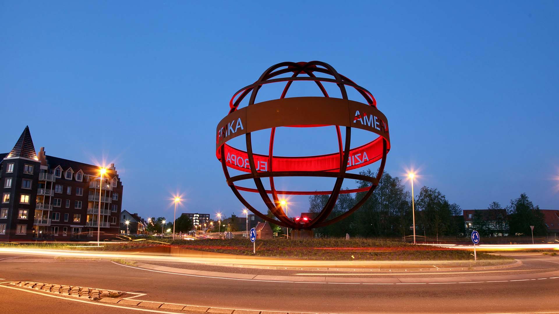 Wereldbol Met Licht : Lichtadvies wereldbol purmerend ipv delft creatieve ingenieurs
