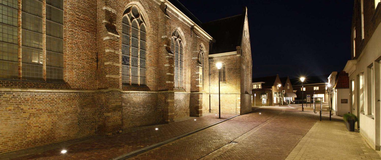 lichtvisie Kerkstraat Strijen objectverlichting ipv Delft