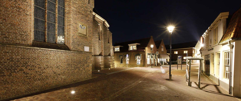 verlichting Kerkstraat Strijen lichtplan ipv Delft