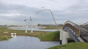 vogelstok natuurinclusief verkeersbrug brugontwerp Noordwaard ipv Delft