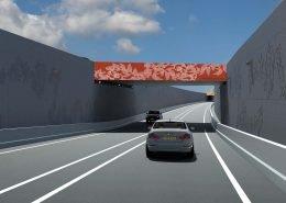 tunnelbak relief Beeldkwaliteitsplan verdiepte N280 Roermond ontwerp ipv Delft