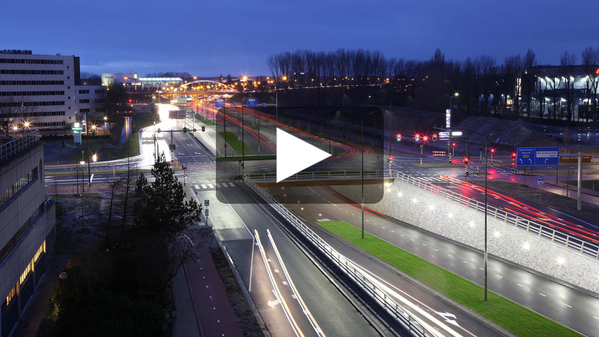 video-tunnels-Plesmanlaan-Leiden