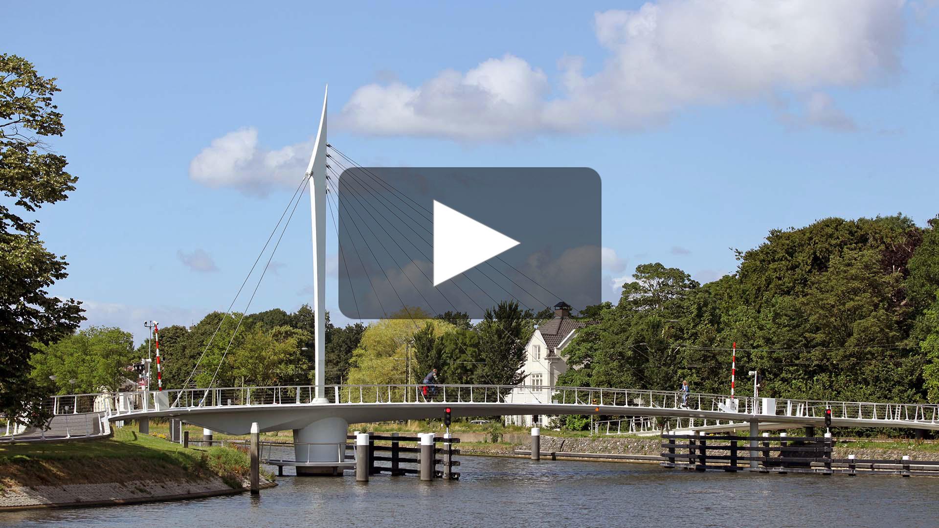 vidoe-slanke-draaibrug-RijnSchiekanaal-Rijswijk