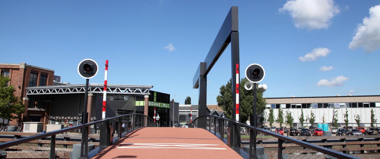 Figeebrug Haarlem ophaalbrug voor fietsers