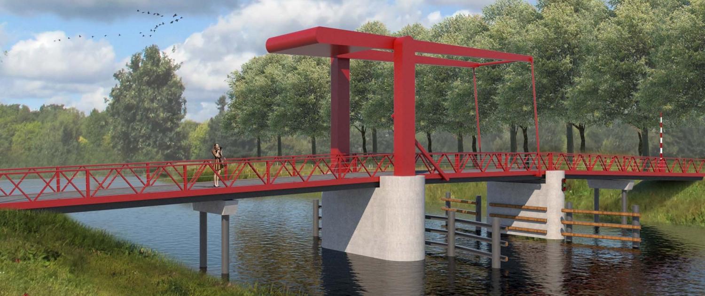 Hollandsche brug, standaard beweegbare brug