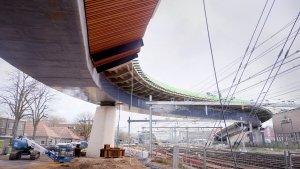 busbrug Zwolle ontworpen door ipv Delft