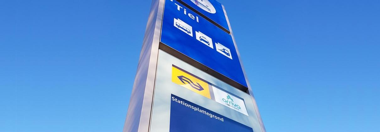 informatiepunt stations ProRail ontwerp ipv Delft pilot