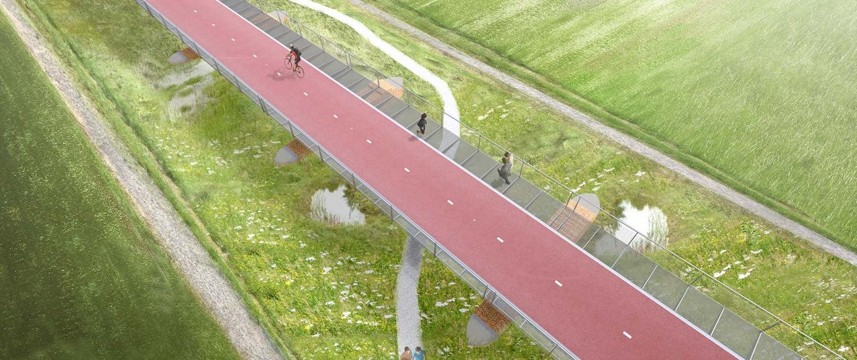 PNB.07-KW2-VOGEL-bovenaanzicht-brug-Baardwijkse-Overlaat-ipvDelft