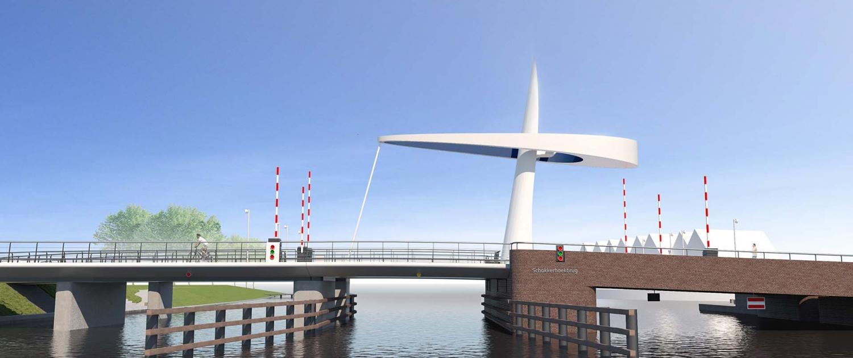 beweegbare Michiel-de-Ruyterbrug-brugontwerp-Urk-ipvDelft