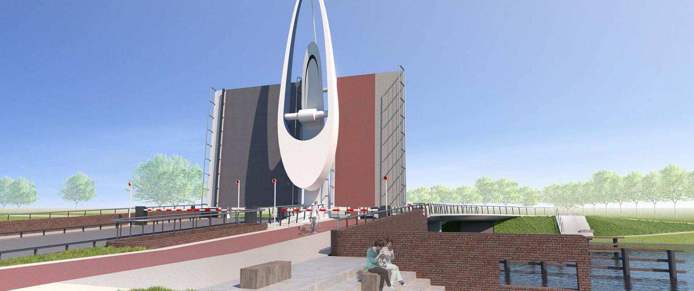 beweegbare Michiel-de-Ruyterbrug_ontwerp-Schokkerhoekbrug-ipvDelft