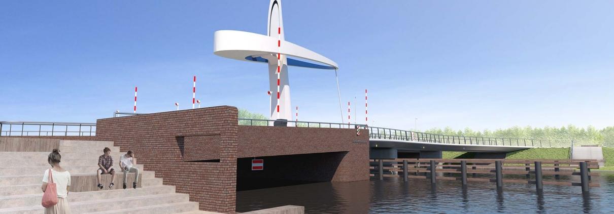 beweegbare Michiel-de-Ruyterbrug-Schokkerhoek-Urk-ipvDelft