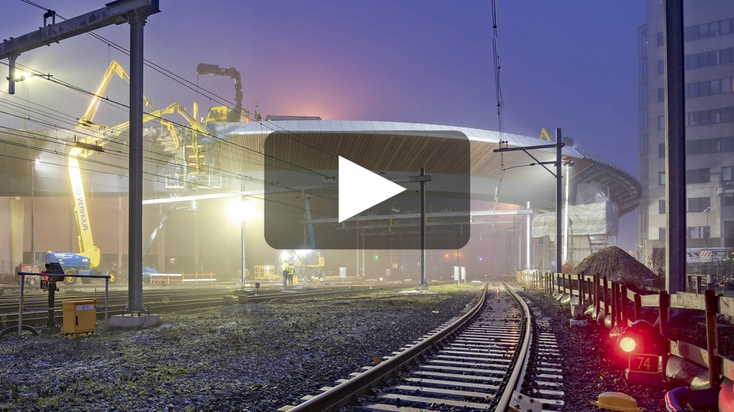 video spectaculaire busbrug Zwolle ontwerp ipv Delft