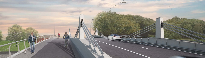 Bergwijkbrug-Merelbeke-vanaf-fietspad-artist-impression-ipvDelft