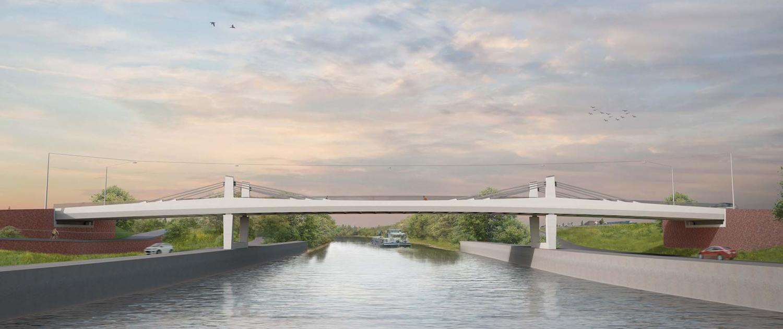 Bergwijkbrug-Merelbeke-zijaanzicht-ontwerp-ipvDelft