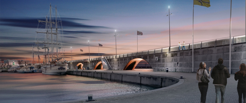 Lelystad-Bataviahaven-lichtontwerp-verlichting-ipvdelft
