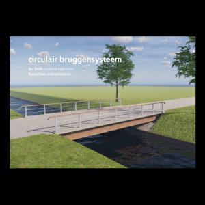 ipv Delft folder Circulair bruggensysteem i.s.m Knipscheer