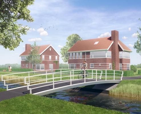 standaardbrug in composiet klassiek ipv Delft