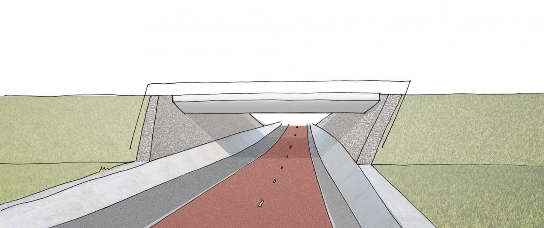 RPS.01_fietstunnel-Plasweg-Waddinxveen-schets-ipvDelft