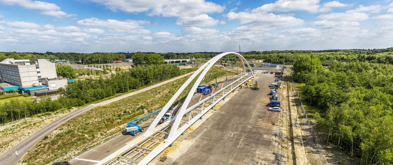 boogbrug-Tegenbosch-A2-N2-Eindhoven-ipv Delft