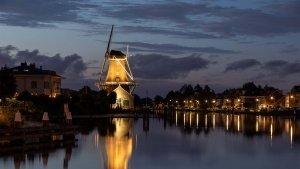 LDM.03_015_molen-sluisgebied-Leidschendam-bij nacht-ipvDelft