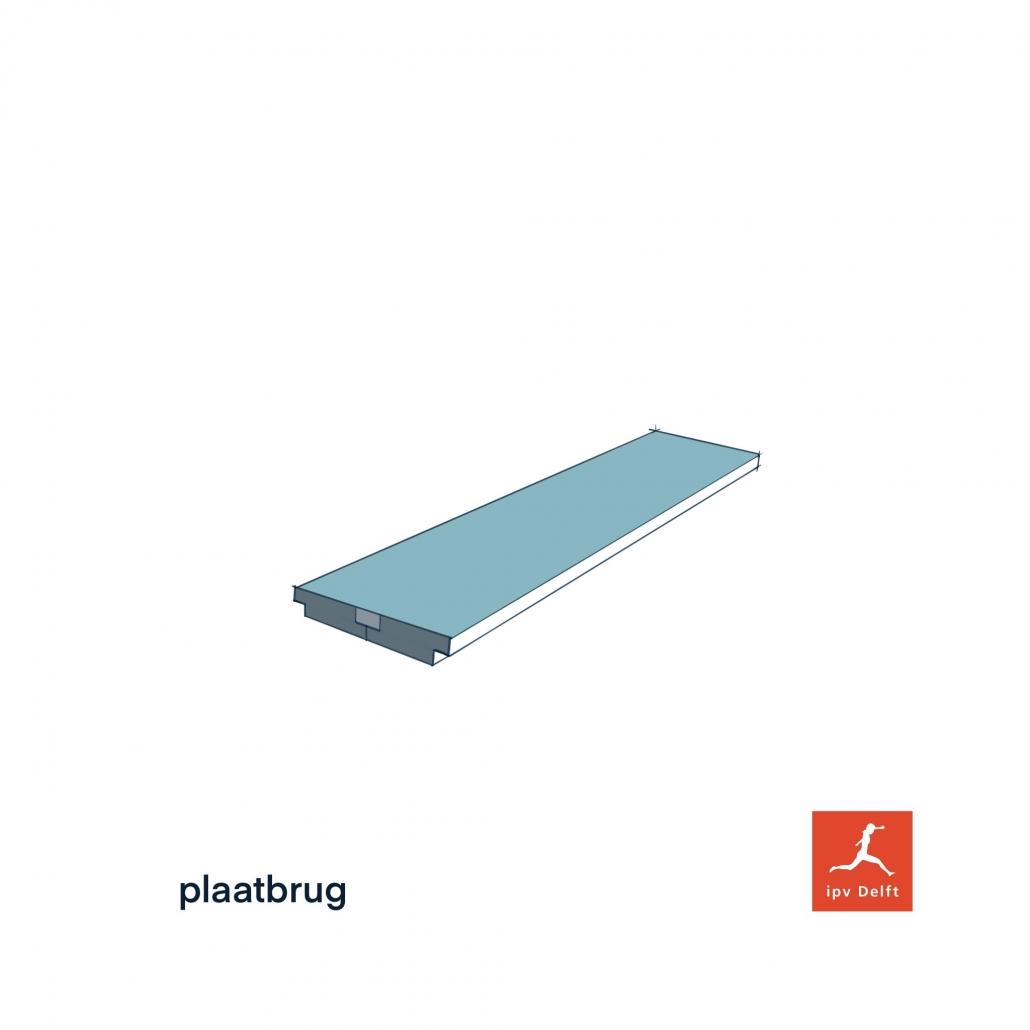 plaatliggerbrug beton