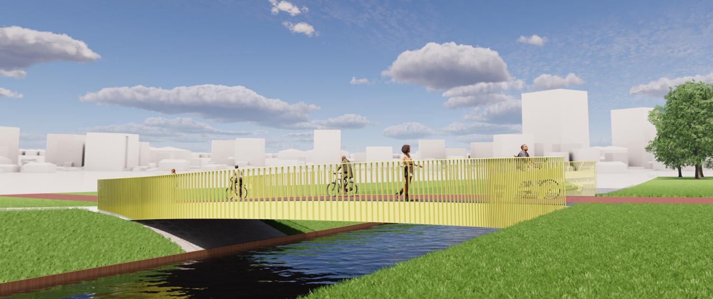 winnend ontwerp Pietersbergbrug