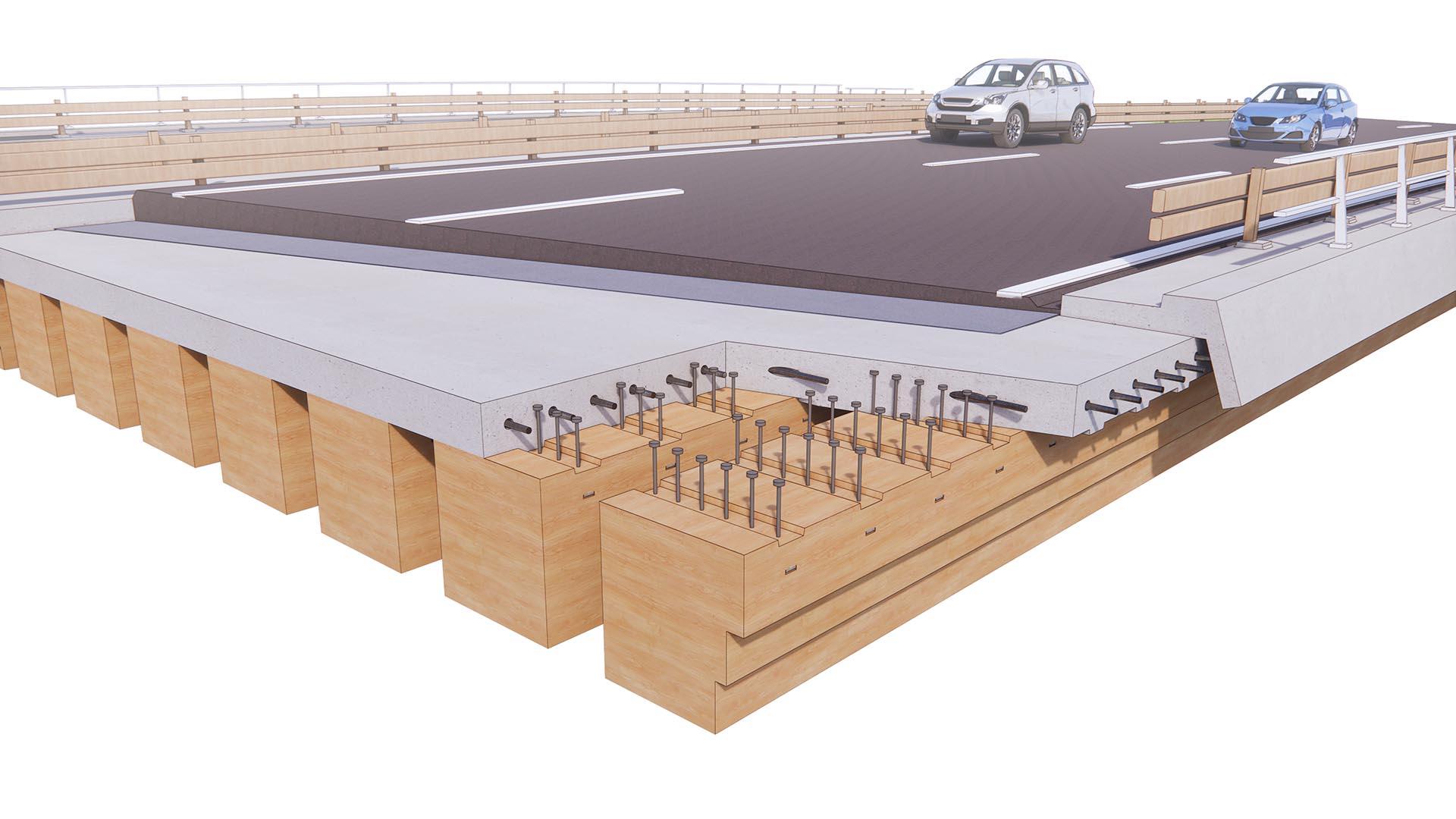 Opbouw_circulair-viaduct-houten-liggers-betonnen-toplaag-Mobilis-ipvDelft