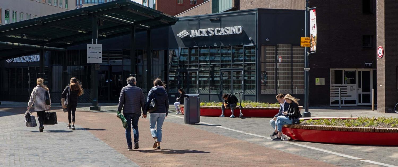 rode loper verbinding DOR binnenstad Roermond