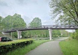 stalen vakwerkbrug-Spikerpad-Zutphen-rendering-