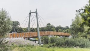 duurzame Michauxbrug Almere